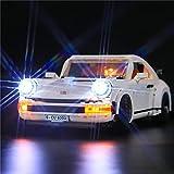 Hosdiy Kit de Iluminación Luces LED Light Compatible con Lego 10295 Porsche 911 Turbo Targa ( Solo Luces Kit, Sin Lego Modelo Incluido )