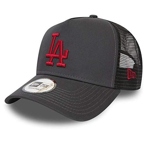 New Era Adjustable Trucker Cap MLB Los Angeles Dodgers One Size