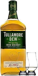 Tullamore Dew Blended Irish Whiskey 0,7 Liter  2 Glencairn Gläser