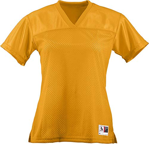 blue and gold football jersey - 8
