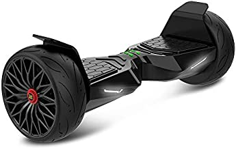 TWO DOTS Hoverboard Off Road All Terrain Self-Balancing Hoverboard Bluetooth Speaker and LED Lights APP Support 8.5