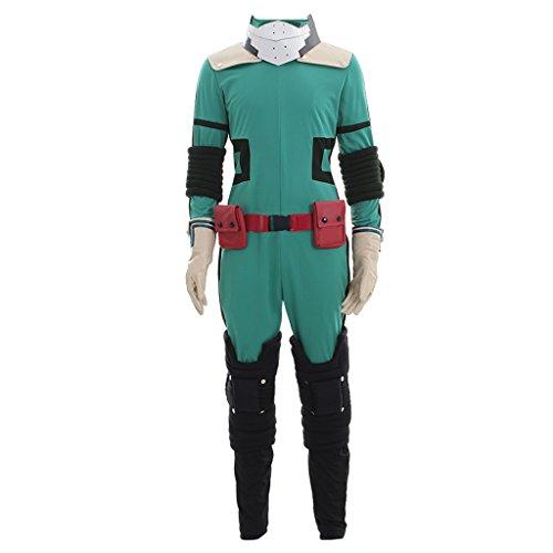 CosplayDiy Men's Suit for My Hero Academia Akademia Izuku Midoriya Cosplay XL