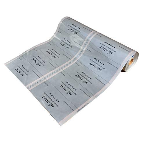 Mi-Heat HighEnd Heizfolie 150Watt/m² 100cm 4,5m konfektioniert Infrarotheizung