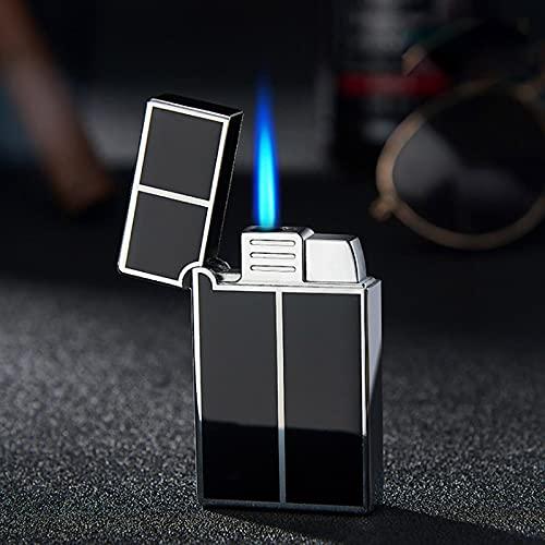 Encendedor de gas, Ping Sound Turbo Jet encendedor compacto de butano antorcha de metal Encendedores de gas a prueba de viento 2