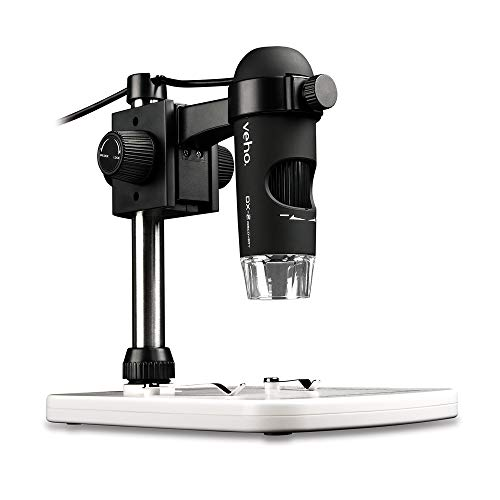 Veho Discovery DX-2 USB Digital 3MP Microscope | x500 Magnification | Photo Capture | Video Capture (VMS-007-DX2)