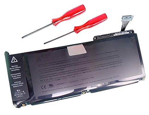 10.95V 63Wh Laptop Battery A1331 for Apple MacBook 13' A1331 A1342 End 2009 Version MacBook 6.1, Mid 2010 Version MacBook 7.1 for Apple MC516D/A MC207xx/A