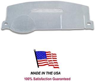 2007-2013 Chevy Tahoe Dash Cover Mat Pad Carpet CH83 (Light Gray)
