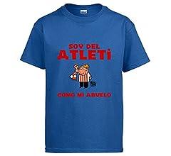 Diver Camisetas Camiseta Atlético de Madrid Soy del Atleti como mi ...