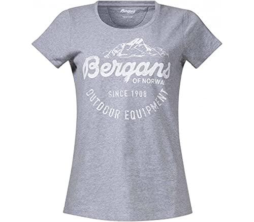 Bergans Femme Classic t-Shirt, Gris, L