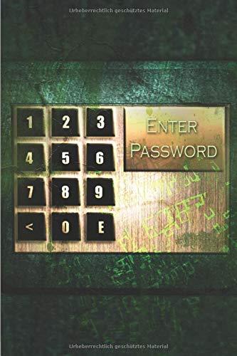 Notizbuch für Passwörter mit Register: A-Z Passwortbuch | Manager | Verwalter zum eintragen A5