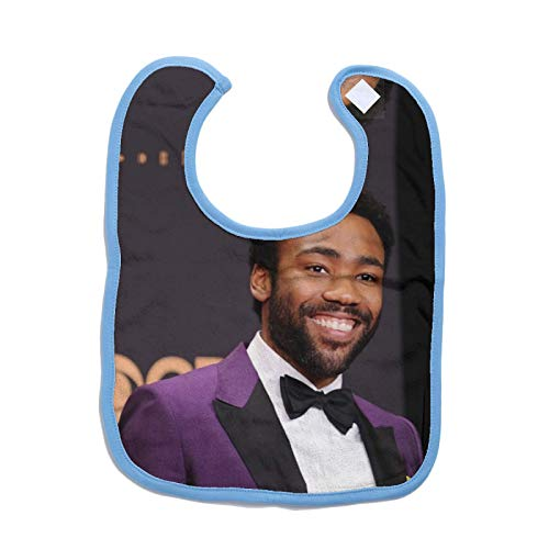 Price comparison product image Childish Gambino Unisex Baby Bibs Drool Bibs for Drooling and Teething 100% Cotton for Boys&girles One Size