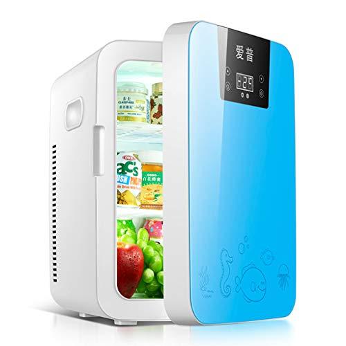 Mini Mesur Nevera de refrigeración y Calentamiento para Coche, portátil, Caja de Viaje, 16 l, 12 V/220V, refrigerador y Calentador, calefacción de Alimentos eléctricos, Nevera para el hogar