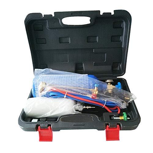Equipo de soldadura de oxígeno portátil herramientas de soldadura para instalación y mantenimiento de aire acondicionado (2 L)