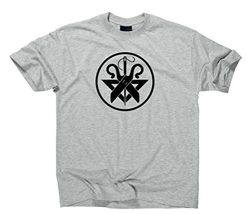 Schneider T-Shirt Zunftwappen Zunft Logo, M, Sport Grey