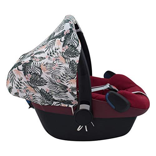 JANABEBE Capota compatible con Maxi Cosi Pebble Bebe Confort (AFRICAN SUNSET)