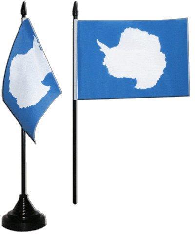 Flaggenfritze® Tischflagge Antarktis 10x15 cm