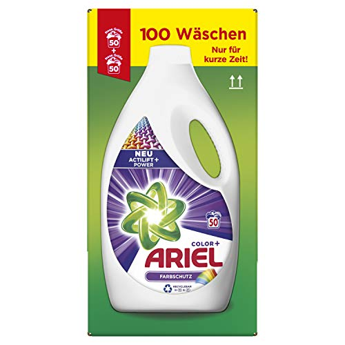 Preisvergleich Produktbild Ariel Color Flüssigwaschmittel Farbschutz 5.5 l,  2er Pack (2 x 50 Waschladungen)