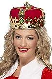 SMIFFYS Corona da regina con gioielli Donna, Rosa, Taglia unica, 21971