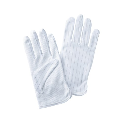 SANWA SUPPLY 静電気防止手袋(滑り止め付き) TK-SE12M