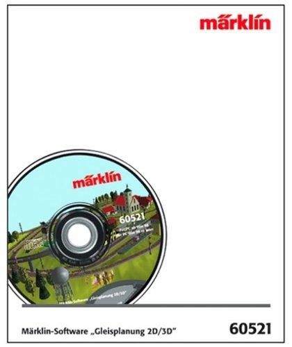 """Märklin 60521 - Märklin-Software \""""Gleisplanung 2D/3D\"""", Spur H0"""