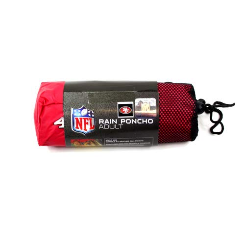 San Francisco 49ers Deluxe Rain Poncho