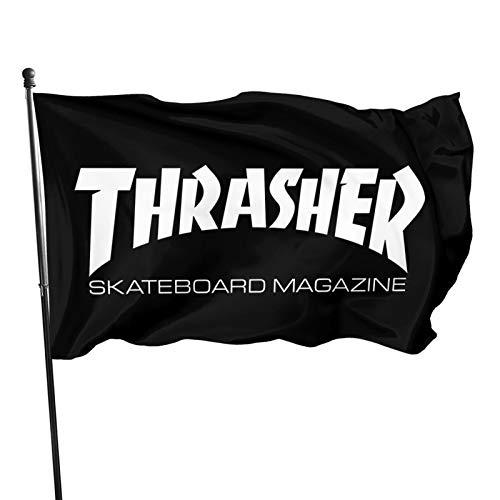 YAMIKE THR-Asher 2 Seasonal Flag 1pcs - Tough Spun Polyester Garden Decor Single Sided Outdoor Holidays Yard Banner Flags 3x5 Feet