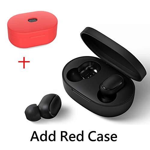 VEVICE Xiaomi Redmi AirDots, audífonos inalámbricos Bluetooth 5.0 en el oído con Funda de Carga de 300 mAh Caja de Carga estéreo Auriculares con micrófono Juegos de música Auriculares