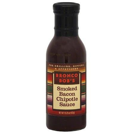 Bronco Bob's Smoked Bacon Chipotle Sauce - 3 Pack