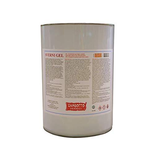 Decapante Gel neutro fuerte para madera y metal de 1 y 5 litros (1 litro)