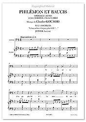 Partitions classique Prima voce Editions GOUNOD CH. - PHILEMON ET BAUCIS, VENUS MÊME N\'EST PAS PLUS BELLE - BARYTON ET PIANO Voix solo, piano