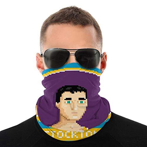 John Stockton Profile Pixel Variety Head Scarf Face Cover Magic Headwear Neck Gaiter Face Bicycle Bandana Scarf