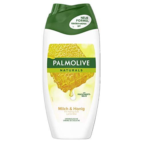 Palmolive Creme-Dusche Honig & Feuchtigkeitsmilch, 6er Pack (6 x 250 ml)