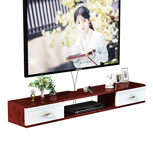 Wandmontage TV Kast Zwevende Plank Wandplank Set Top Box Router Projector Opslag Plank TV Console Multifunctionele Display Plank 1.0M/1.2M
