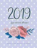 2019 Appointment Planner: 52 Weeks Planner Calendar Schedule Organizer and Inspirational Quotes | Appointment...