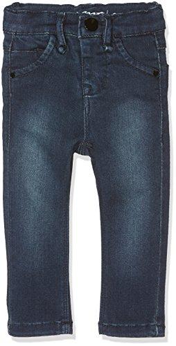Name It Nitteba Skinny DNM Pant Mini Noos Jeans, Gris (Dark Blue Denim), 86 Bébé Fille