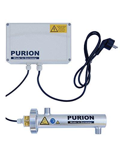 PURION 400 waterbehandeling met UV-C voor drinkwater 300 l/h