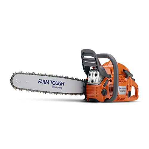 Our #2 Pick is the Husqvarna 20-Inch 455 Rancher Gas Chainsaw