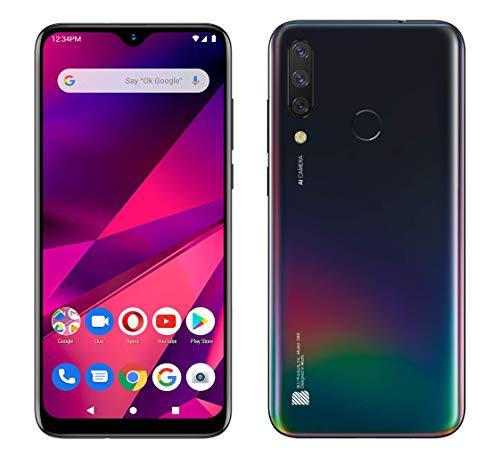 BLU G80 G0290WW 64GB Dual SIM GSM Unlocked Android Smartphone - Black