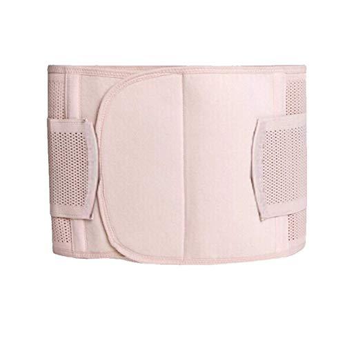 AAJZ Las Mujeres de la Cintura Talladora del Cuerpo del Entrenador Faja, Postparto del Vientre Wrap C Sección de Recuperación Correa de la Faja Carpeta Fajas Shapewear (Color : Mesh, Size : Large)
