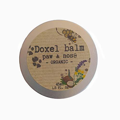 Doxel Eco Balm, Bálsamo Natural para Perros, Hidrata, Nutre, Protege, Repara y Calma Las Almohadillas Patas y Nariz, Protector Piel, 100% Natural, 100% ECOLÓGICO, 45ml, Amarillo