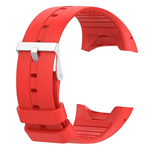 SFNTION Correa de repuesto de silicona suave para reloj Polar M400 M430 20 cm GPS deportivo pulsera de reloj inteligente