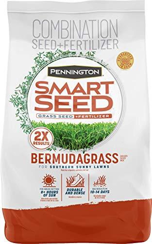 Pennington Smart Seed Bermudagrass Grass Seed and Fertilizer Mix, 8.75 Pounds