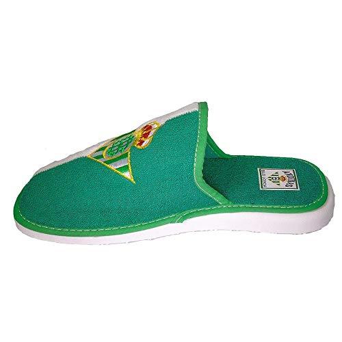 Zapatillas de casa Andinas 595-70 Betis Verdes - Talla: 41 genero: Mujer