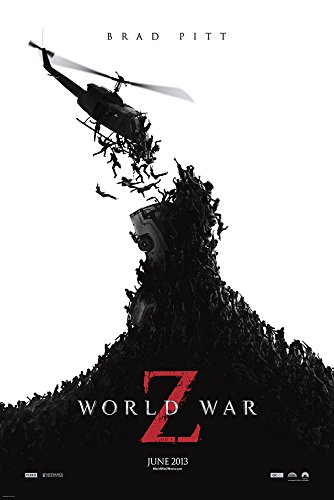 World War Z Movie Poster - Size 24' X 36' - This is a Certified Poster Office Print with Holographic Sequential Numbering for Authenticity.