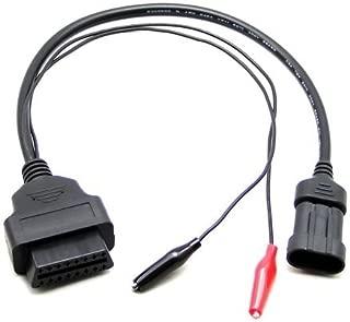 Goliton OBD OBD2 16 Pin Connector Diagnostic Adapter for FIAT 3 Pin