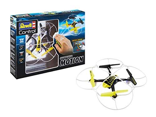 Revell- Quadcopter Motion Control 23840-Quadricottero, Telecomando 2,4 GHz, per Principianti, con Telaio Stabile, 23840