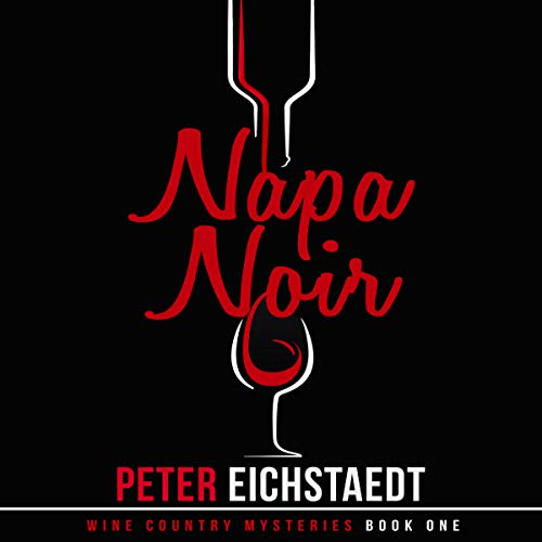 Napa Noir audiobook cover art
