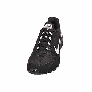 Nike Men's Air Max Torch 3 Running Shoes (12 M US, Black/White)