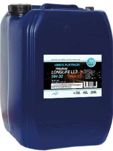 Limox Platinum Longlife LL3 5W-30 Huile Moteur 20 l ACEA C3, 504 00/507 00, MB 229.51, Longlife-04, 20L (WIV)