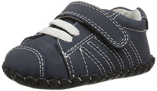 Pediped Jake, Baby Jungen Lauflernschuhe Sneaker, Blau (Navy), 0-6 Monate